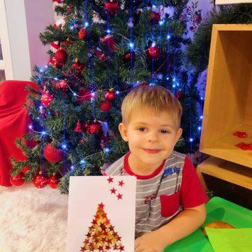 Блогмас: 8-ми декември – правим коледни картички с Боян
