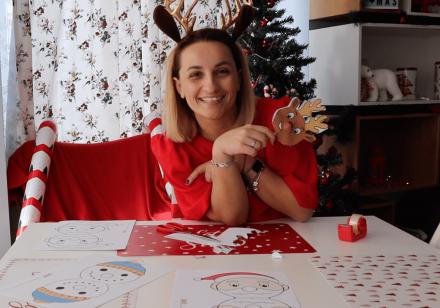 Блогмас: 3-ти декември – забавно еленче с нос от близалка