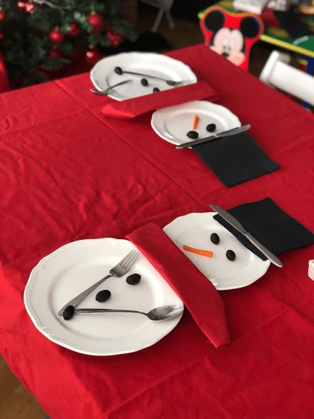 Блогмас: 2-ри декември – коледна декорация за маса
